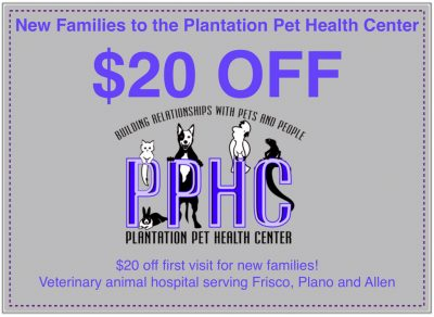 Pet Specials Promotions Discounts